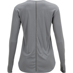 Peak Performance Epic Camiseta de manga larga Mujer, grey melange